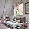 Ensemble barre à rideaux extensible COLOURS Nari laiton 120/210 cm