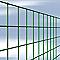 Grillage plastifié vert 6 x 6mm, L.2,5 x h.0,5 m