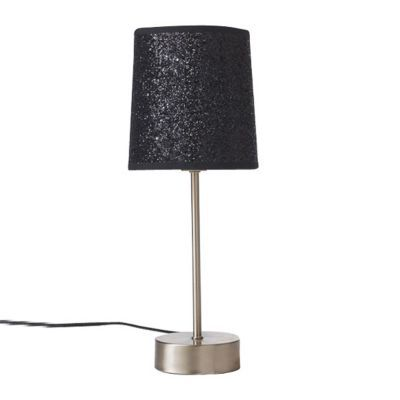 lampe poser tactile colours paillettes noires castorama. Black Bedroom Furniture Sets. Home Design Ideas