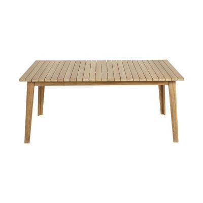 Table de jardin en bois Fuji 179/220 x 110 cm