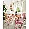 Chaise de jardin chiva rose pliante