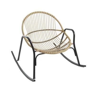 Rocking chair de jardin en métal Cuba | Castorama