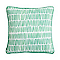 Coussin Cocos traits verts