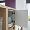 Bloc porte blanc pour cube de rangement 33 x 33 cm Mixxit