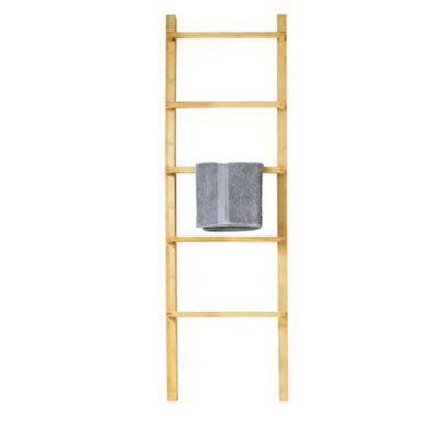 chelle porte serviette 5 barres bambou form robinson. Black Bedroom Furniture Sets. Home Design Ideas