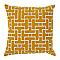 Coussin COLOURS Elpis jaune 45 x 45 cm