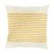 Coussin Epione jaune 45 x 45 cm