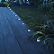 10 spots encastrables Blooma Bilis lumière blanche