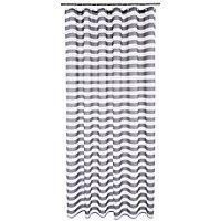 Rideau de douche en textile gris 180 x 200 cm Malo
