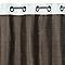 Rideau Luanda brown 135 x 240 cm