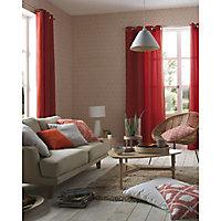 Coussin rouge orange 35 x 35 cm