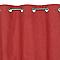 Rideau Colours Absalon rouge 140 x 240 cm