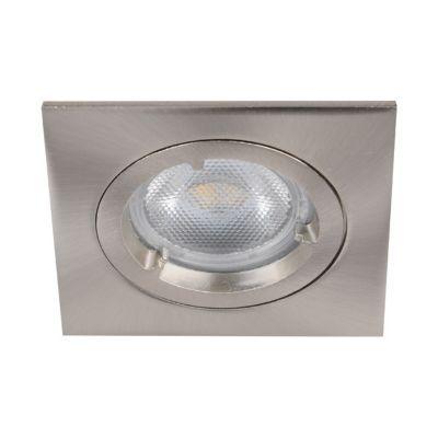 3 spots à encastrer LED chrome GU10 6W