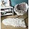 Tapis Mouton blanc 60 x 90 cm
