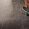 Carrelage sol intérieur chrome 45 x 45 cm Metalica (vendu au carton)