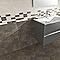 Carrelage mur crème effet béton 20 x 50 cm Metalica (vendu au carton)