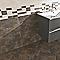 Carrelage mur blanc 20 x 50 cm Metalica (vendu au carton)