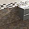 Carrelage mur effet chromé 20 x 50 cm Metalica (vendu au carton)