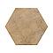 Carrelage sol et mur ocre rouge 30 x 34,5 cm Tomette