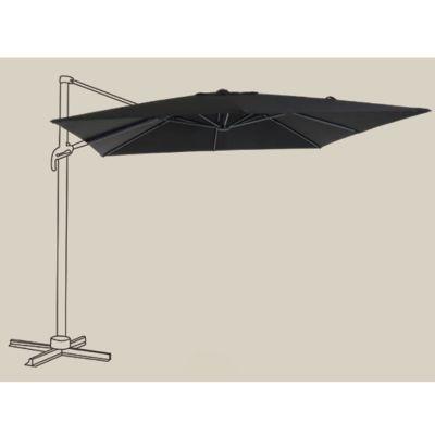 toile de remplacement pour parasol blooma jaya noir castorama. Black Bedroom Furniture Sets. Home Design Ideas