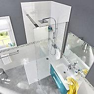 Paroi de douche fixe Cooke & Lewis Pure transparent 100 cm