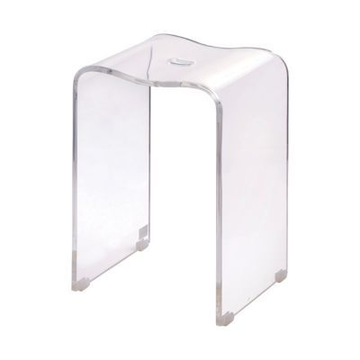 Tabouret transparent Ice | Castorama