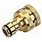Nez en laiton 15-21mm + adaptateur 26-34mm VERVE
