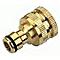 Nez en laiton 20-27mm + adaptateur 15-21mm