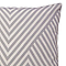Coussin COLOURS Oak gris blanc 50 x 50 cm