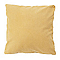 Coussin COLOURS Curry jaune 50 x 50 cm