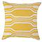 Coussin COLOURS Bavi jaune 50 x 50 cm