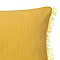 Coussin COLOURS Denia jaune 30 x 50 cm