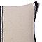 Coussin COLOURS Clover bleu 35 x 50 cm