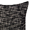 Coussin COLOURS Ann noir et blanc 43 x 43 cm