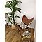 Coussin COLOURS Sori zigzag noir 30 x 50 cm