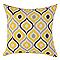 Coussin COLOURS Chaba jaune 45 x 45 cm