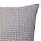Coussin COLOURS Alton gris 45 x 45 cm