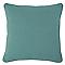 Coussin COLOURS Zen bleu vert 40 x 40 cm