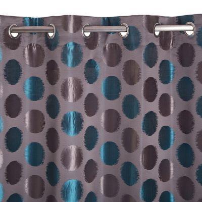 Rideau Colours Andreas Bleu 140 X 240 Cm Castorama
