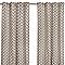 Rideau COLOURS Dipper noir et naturel 140 x 240 cm