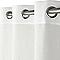 Voilage COLOURS Scilla blanc 140 x 240 cm