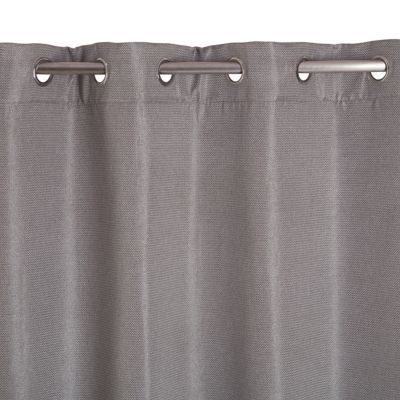 rideau occultant colours wattle gris 140 x 240 cm castorama. Black Bedroom Furniture Sets. Home Design Ideas