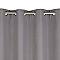 Rideau occultant COLOURS Veloso gris 140 x 240 cm