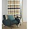 Rideau COLOURS Hopton bleu 140 x 240 cm