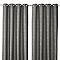 Rideau COLOURS Chanza chevron gris 140 x 240 cm