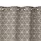 Rideau COLOURS Caloy losanges gris 140 x 240 cm