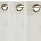 Voilage COLOURS Anika blanc 140 x 240 cm