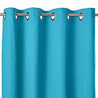 Rideau Colours Moco bleu 135 x 240 cm