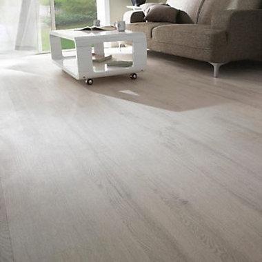 Lame PVC chêne blanchi Sanja 2 15,2 x 91,4 cm (vendue au carton)
