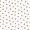 Papier peint intissé LUTECE petit bouquet rose